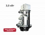 Подогреватель двигателя с циркуляционным насосом 220В Северс+ 3,0 кВт (в сборе с универсальным монтажным комплектом)